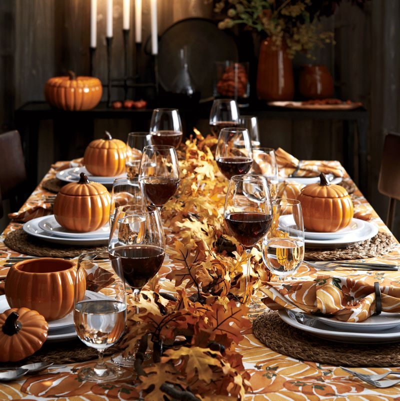 Harvest Classic & Thanksgiving Table Settings   Crate and Barrel