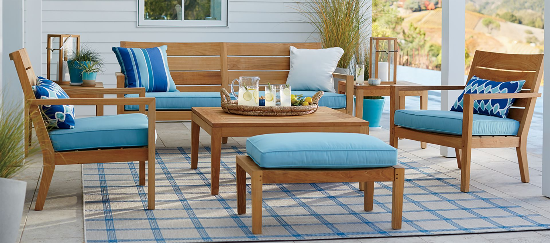 Environmentally Friendly Outdoor Furniture | Crate and Barrel