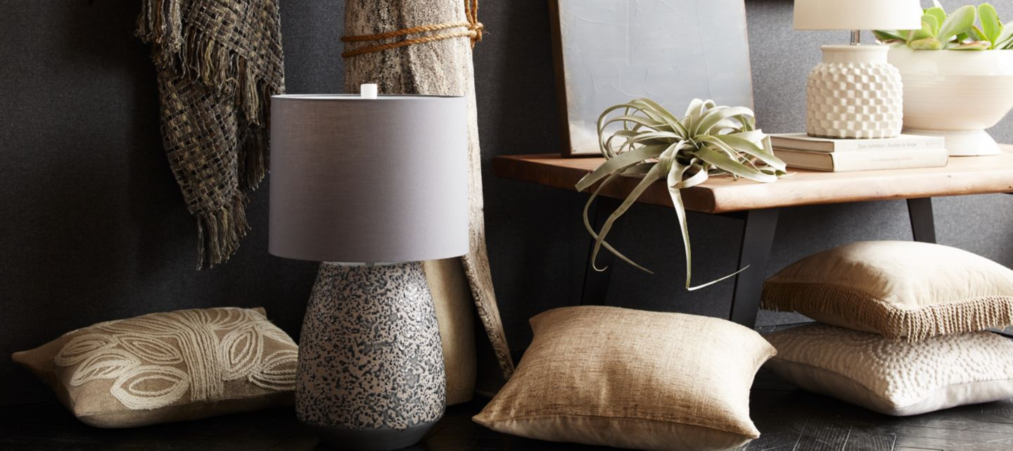 home decor accessories for a stylish home | crate and barrel