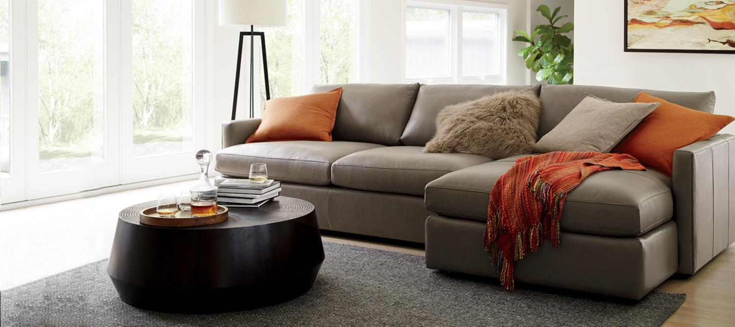 Living Room Furniture On Furniture Store Crate And Barrel