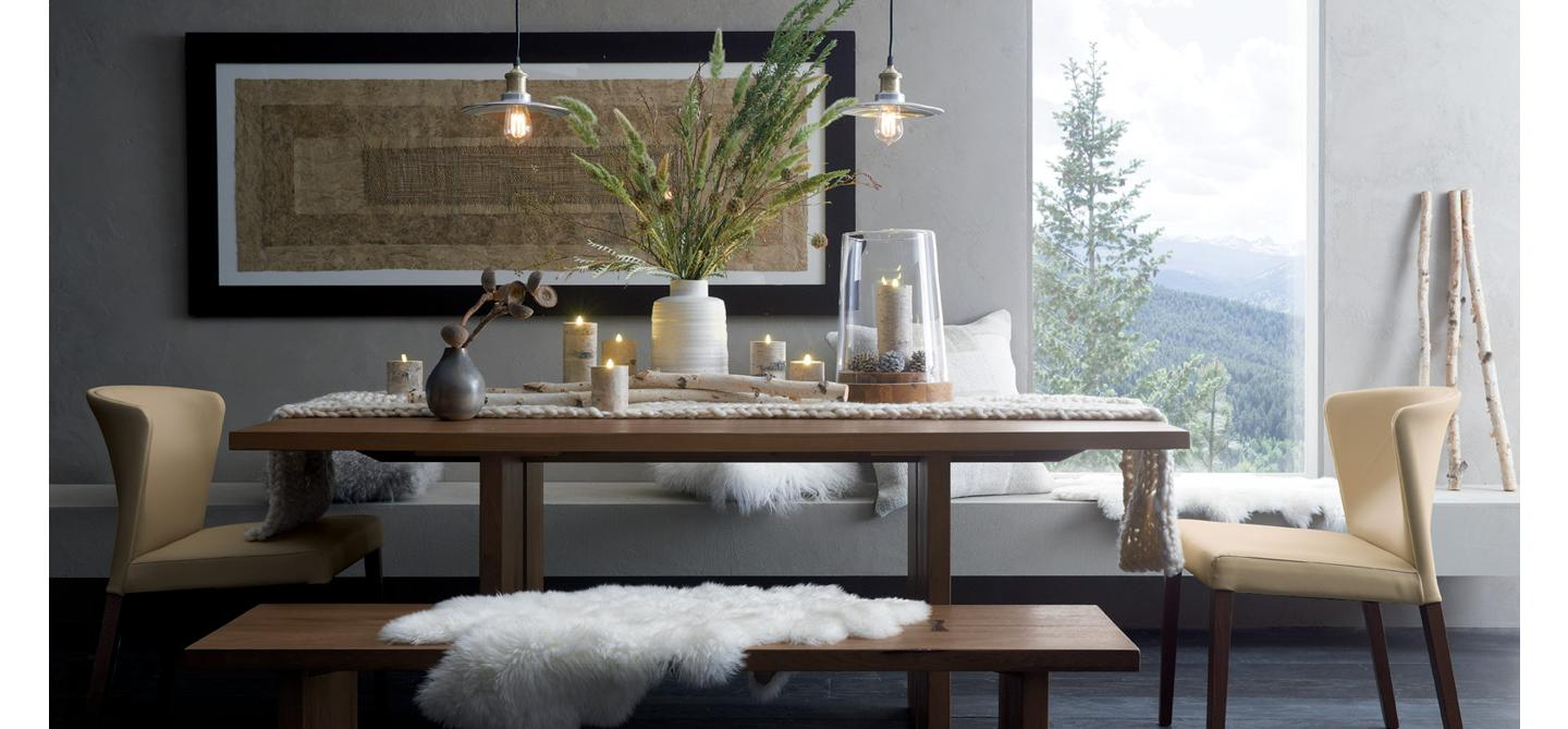 11 1 Holiday Dining Room. Furniture For Your Contemporary Home   Crate and Barrel