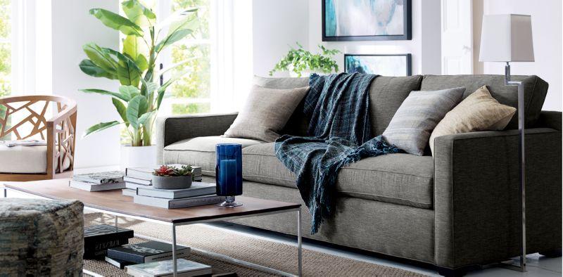 Crate Barrel Furniture living room list of things House Designer