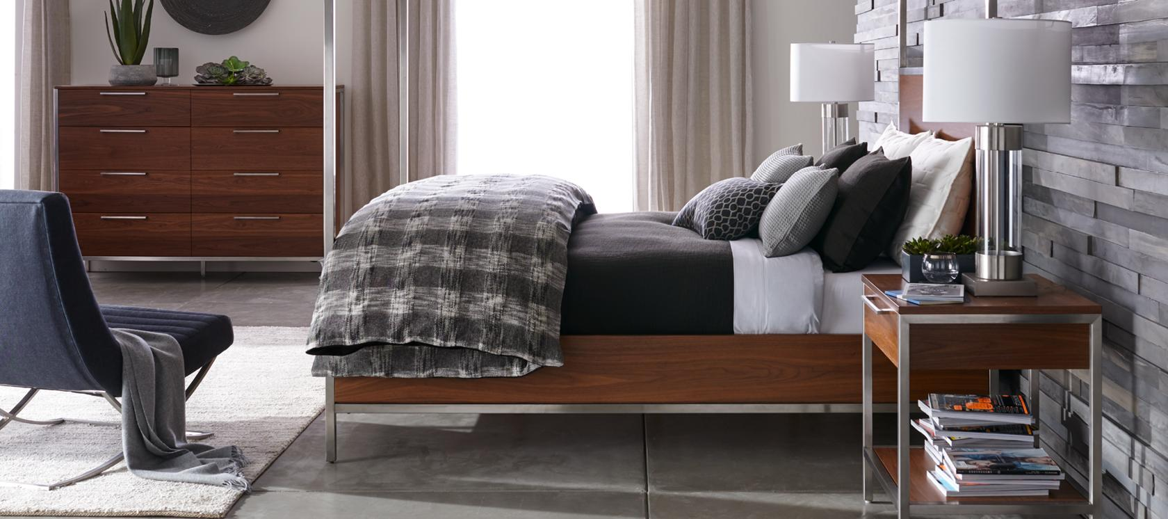 Furniture for your contemporary home crate and barrel - Crate barrel bedroom furniture ...