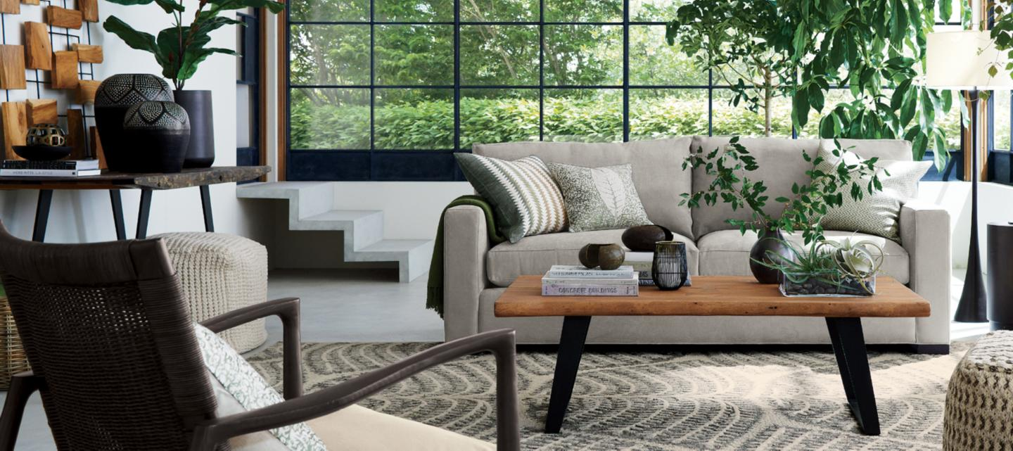 Furniture for your contemporary home crate and barrel for Best furniture stores in usa
