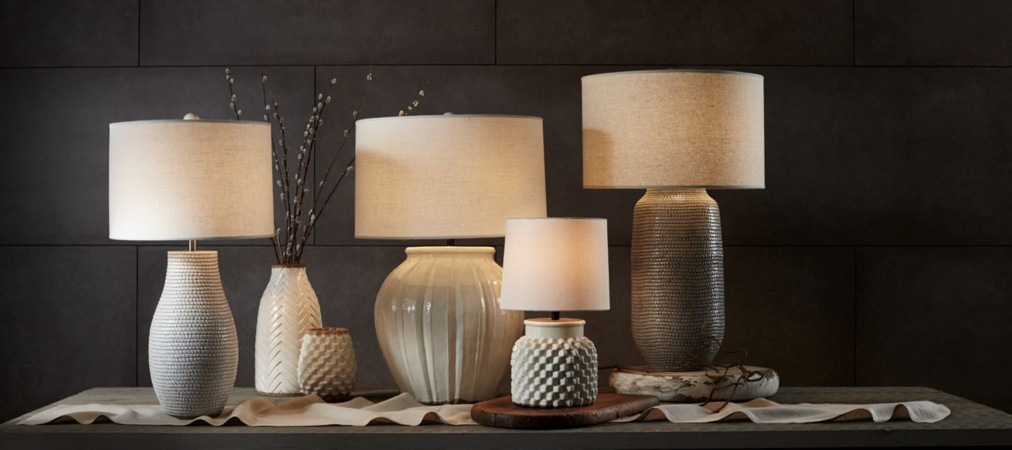 Lighting fixtures and home lighting crate and barrel turn it up with details that pop shop table lamps arubaitofo Gallery