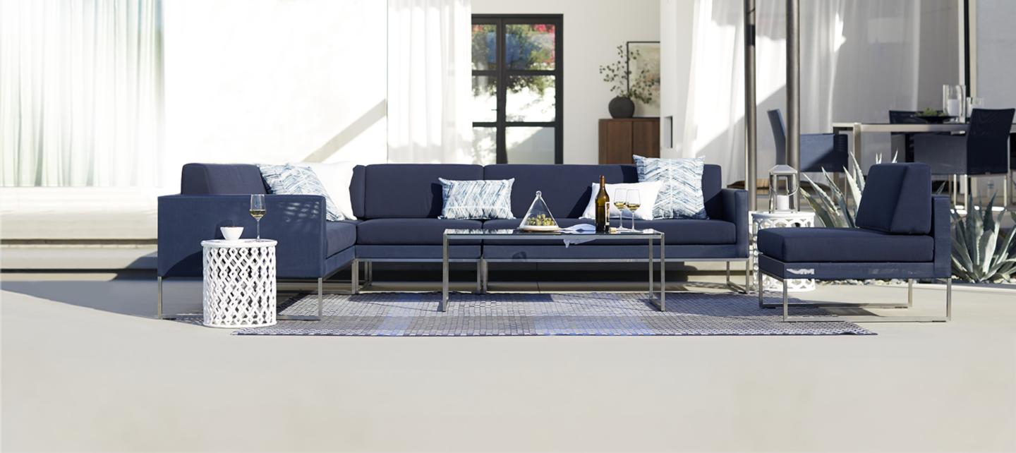 Living Room Sofa Sets For Outdoor Furniture And Patio Furniture Sets Crate And Barrel