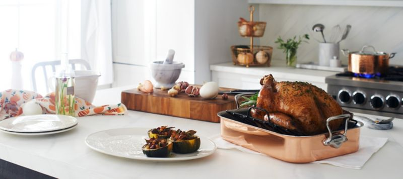 The best youu0027ve ever roasted. Shop Thanksgiving Prep & Thanksgiving Dinnerware u0026 Decorations | Crate and Barrel