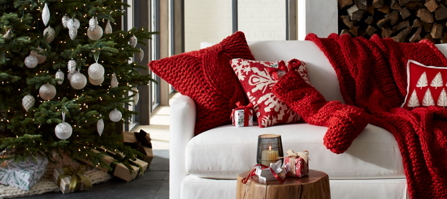 Home Christmas Decorations christmas decorations for home and tree | crate and barrel