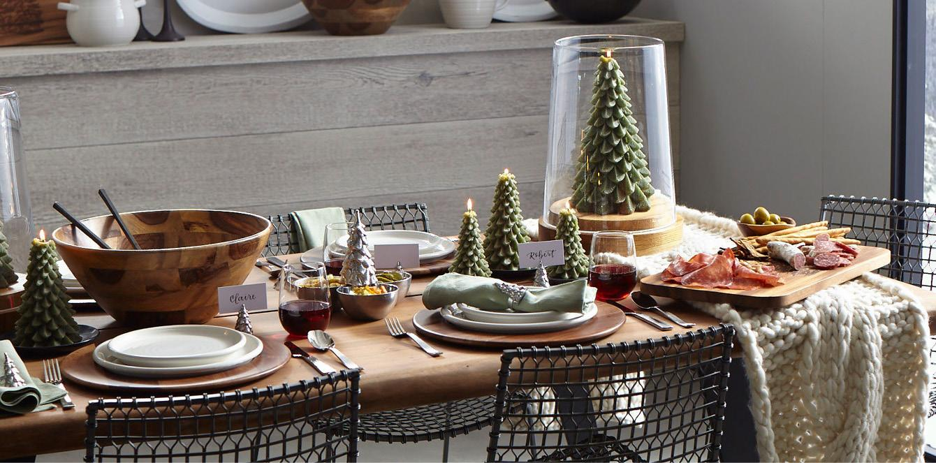 Crate and barrel friends and family - The Dining Room S Getting All Cozy