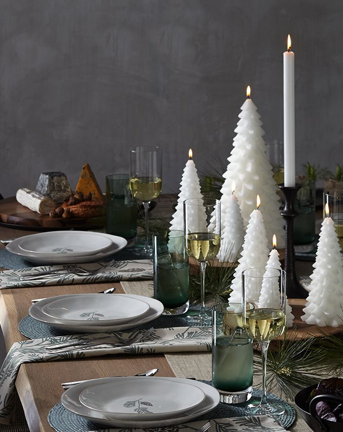 Holiday Table Arrangement | Crate and Barrel