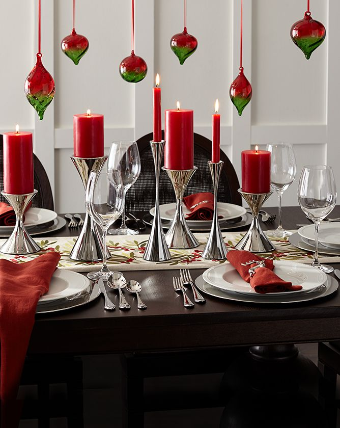 Holiday Table Setting | Crate and Barrel