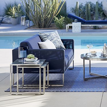 furniture, home decor and wedding registry | crate and barrel - Designer Patio Furniture