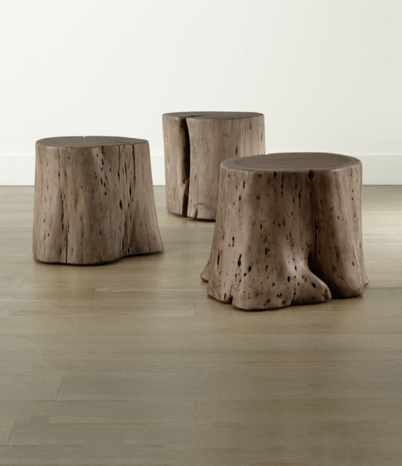 Teton Natural Wood Accent Table