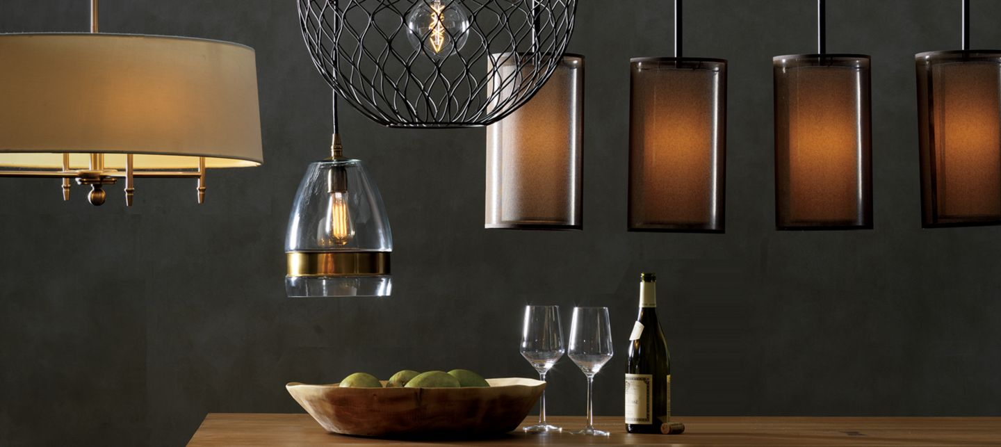 lighting fixtures and home lighting  crate and barrel, Lighting ideas