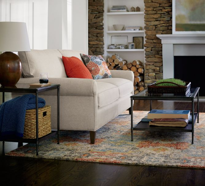 Decorating with mixed materials