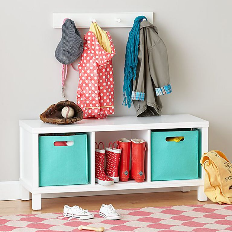 Foyer Storage Quote : Entryway storage ideas for families crate and barrel