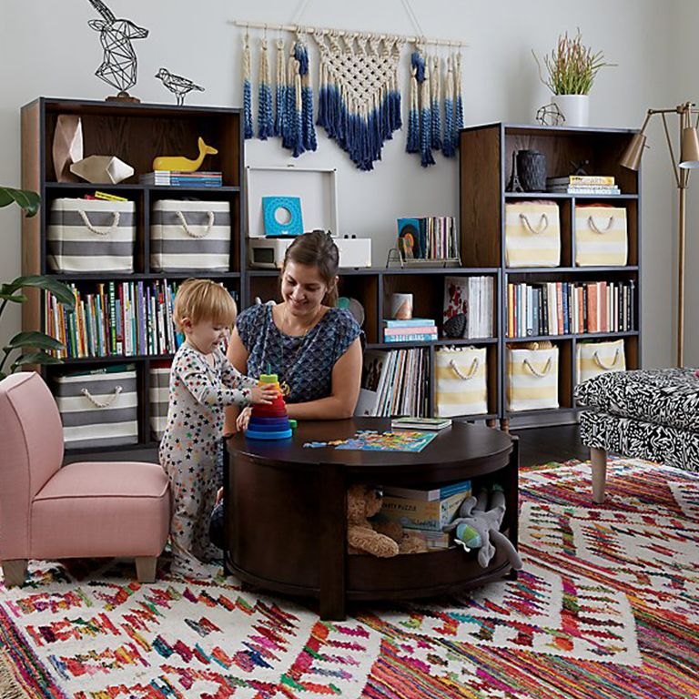 Creating a Kid Friendly Living Room | Crate and Barrel