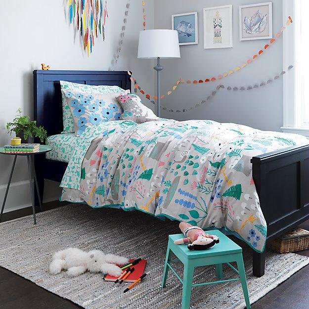 Design Decor Shopping Appstore For: Folktale Forest Kids Bedding