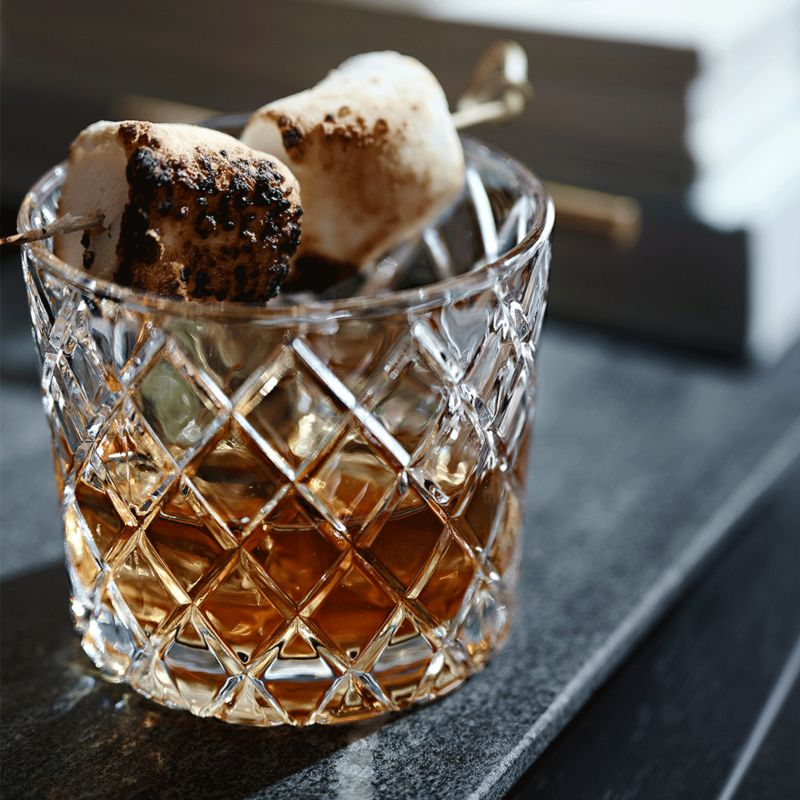 Campfire Whiskey winter cocktail recipe - Crate and Barrel.