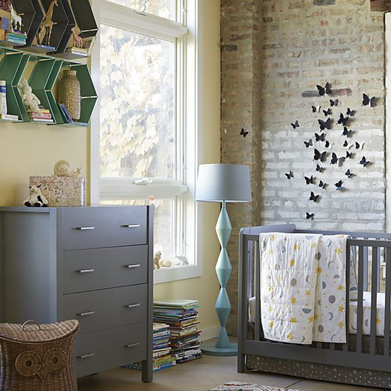 Neutral Nursery With Pops Of Color Project Pertaining To Paint Colors Decor 17