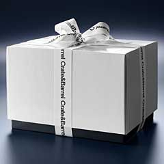 Crate and Barrel Gift Box