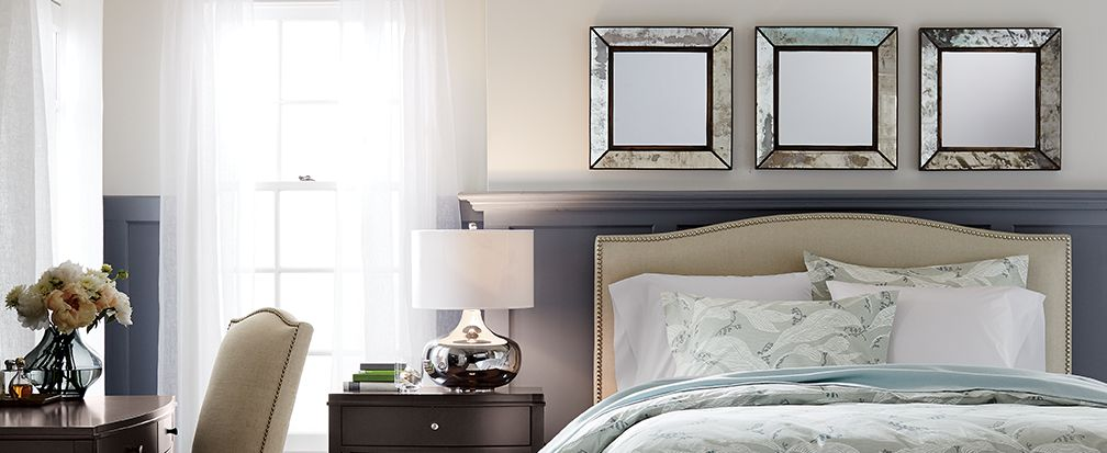 Stylish Above The Bed Decor Ideas Crate And Barrel
