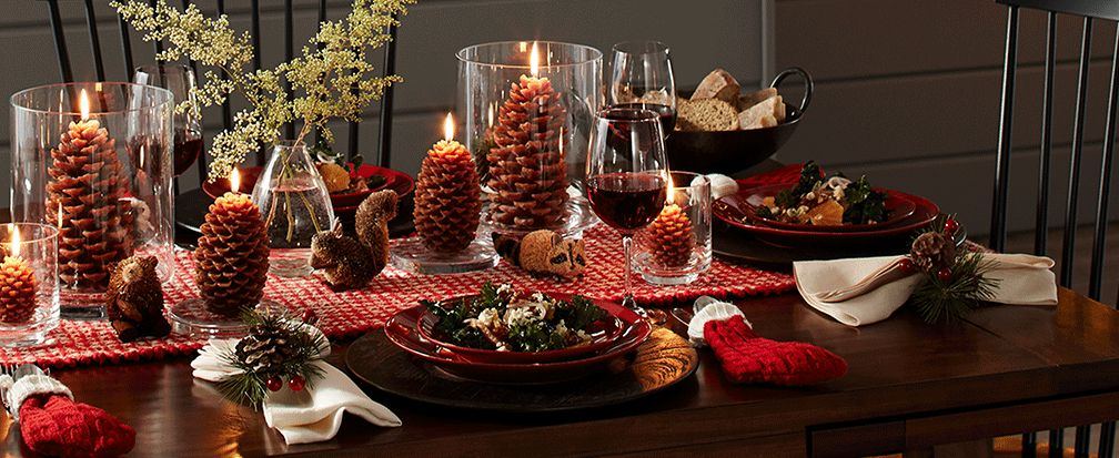Christmas Centerpiece Ideas Crate And Barrel