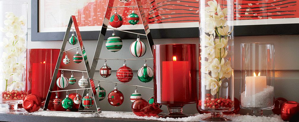 Christmas Ornament Decorating Ideas Crate And Barrel