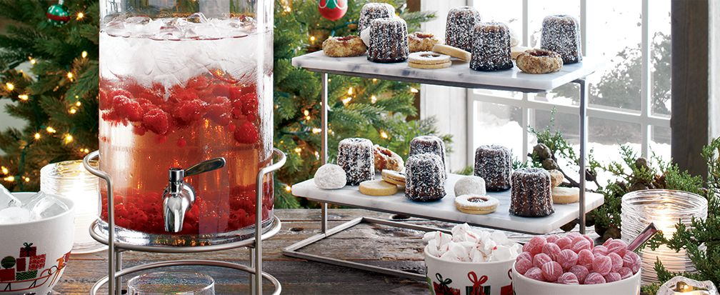 How To Host A Christmas Party Crate And Barrel