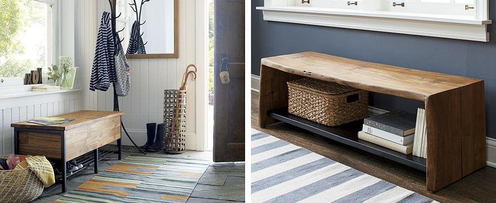 Entryway Ideas Crate And Barrel