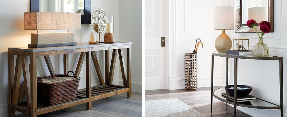 Foyer Decorating Ideas Crate And Barrel