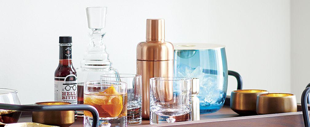 Home Bar Essentials Crate And Barrel