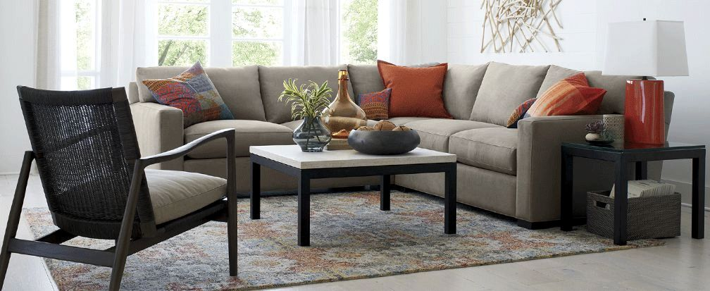 How to Choose a Sectional Sofa | Crate and Barrel