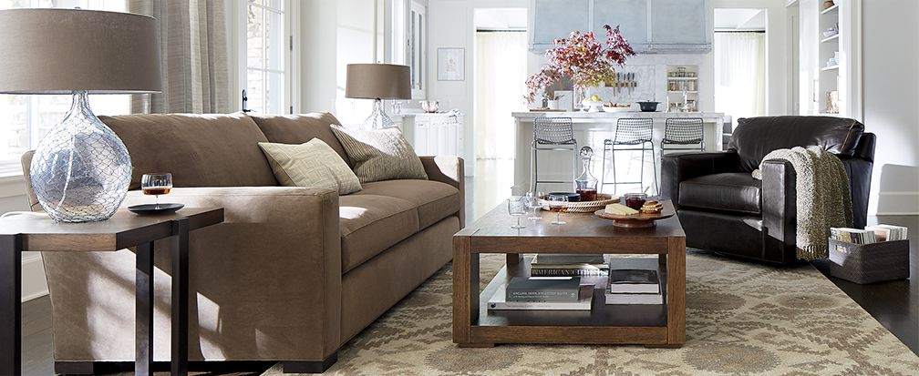Living Room Layouts How To Arrange Furniture Crate And Barrel