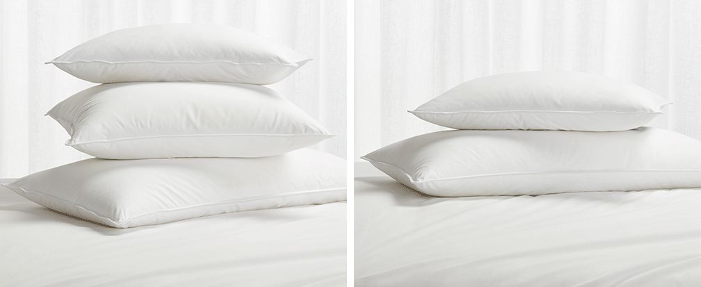 Pillows 101 How To Choose The Right Bed Pillow Crate
