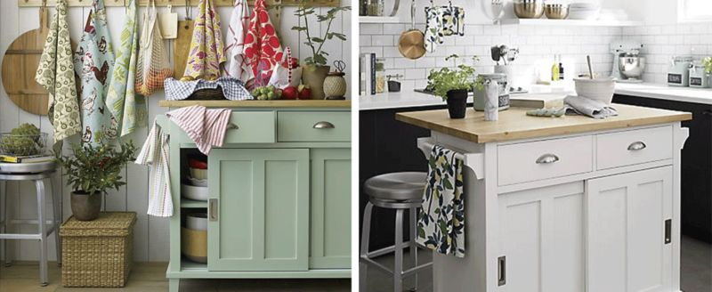 Kitchen Island Decorating Ideas | Crate and Barrel