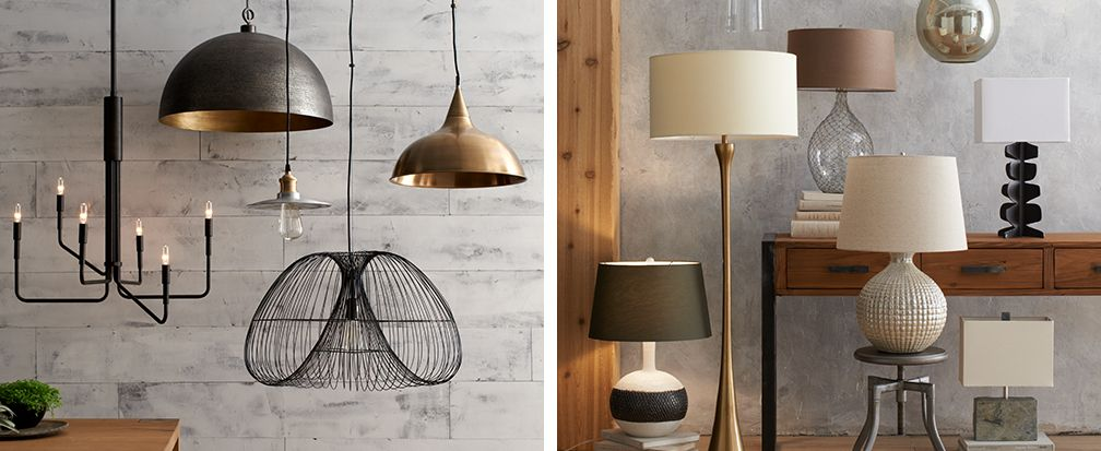Lighting Ideas For Your Home Crate And Barrel