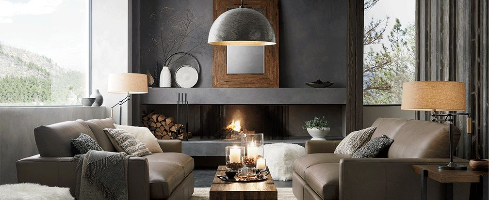 How to Decorate a Mantel: 7 Fireplace Ideas | Crate and Barrel