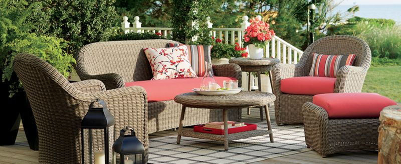 6 Patio Decorating Ideas To Try This Summer Crate And Barrel