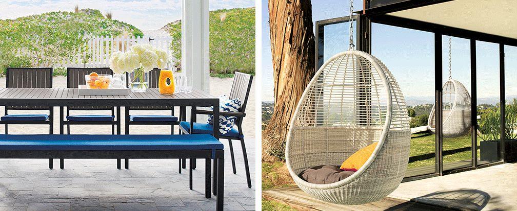 Pergola Decorating Ideas | Crate and Barrel