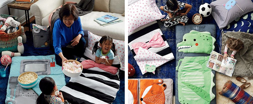 15 Sleepover Activities For Kids Of All Ages Crate And Barrel