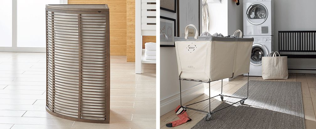 8 Stylish Small Space Laundry Room Ideas Crate And Barrel