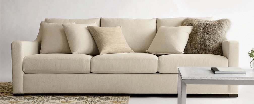Types Of Sofas A Buying Guide Crate And Barrel