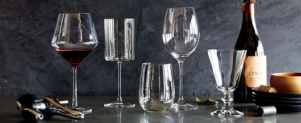 Types Of Wine Glasses Crate And Barrel