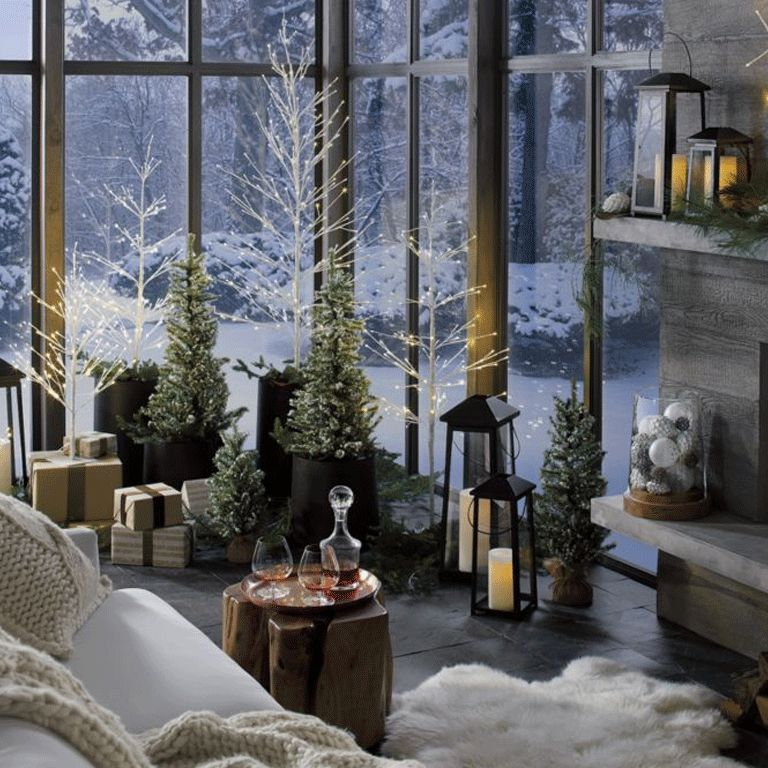 Christmas Decor Ideas Crate And Barrel