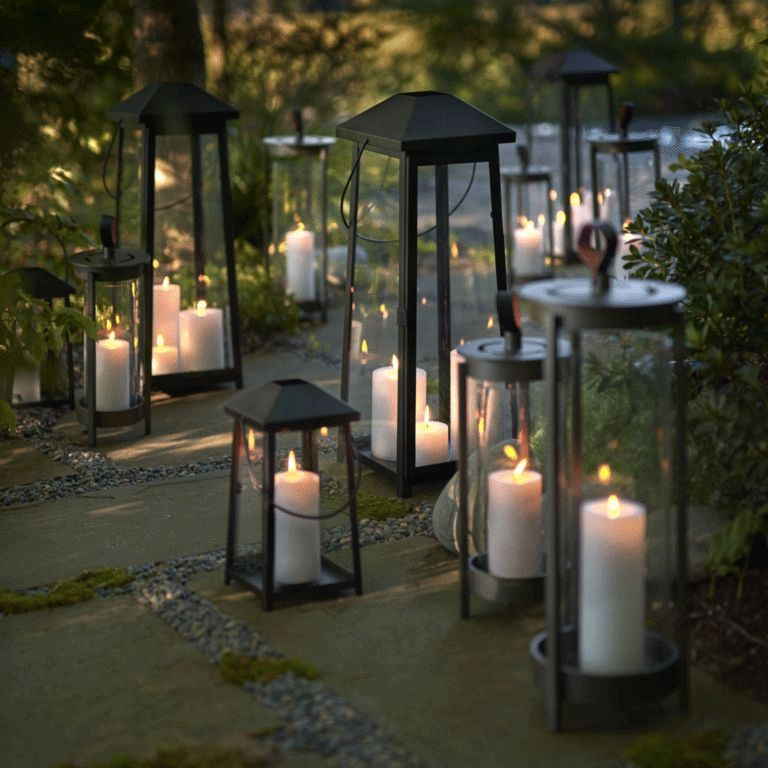 Entryway Outdoor Organization Lighting Ideas