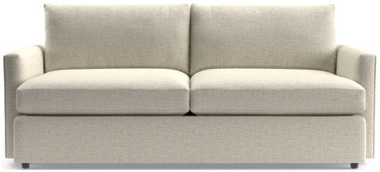 """Lounge II 83"""" Sofa shown in Taft, Cement"""