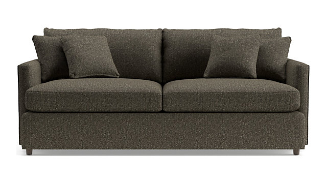 "Lounge II 83"" Sofa shown in Taft, Truffle"