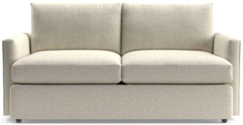 Lounge II Apartment Sofa shown in Taft, Cement