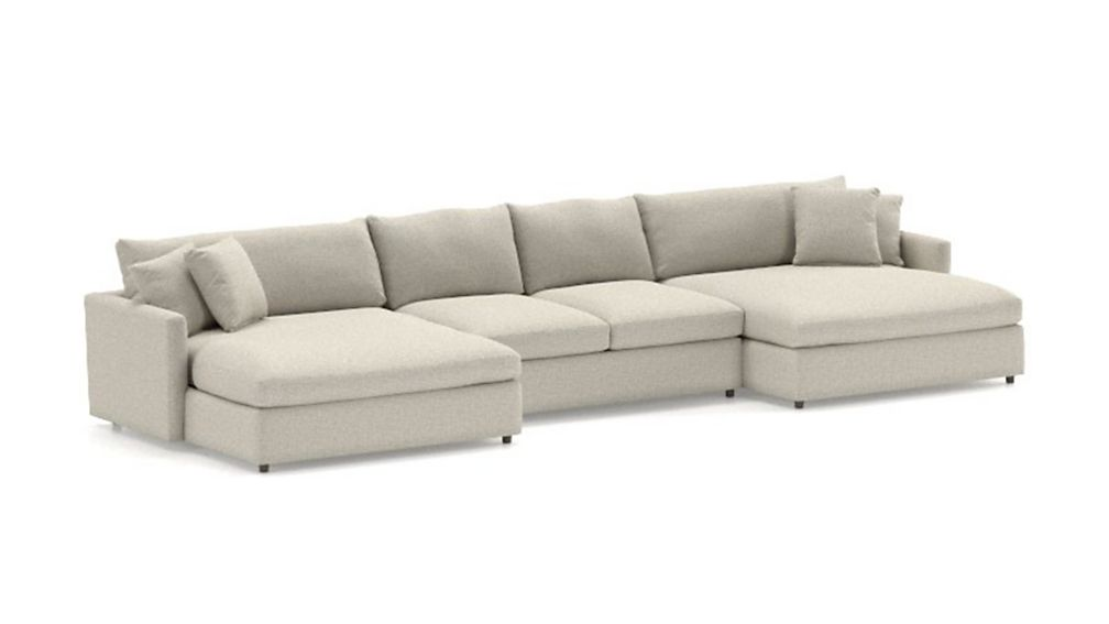Lounge II 3-Piece Double Chaise Sectional Sofa - Image 2 of 3